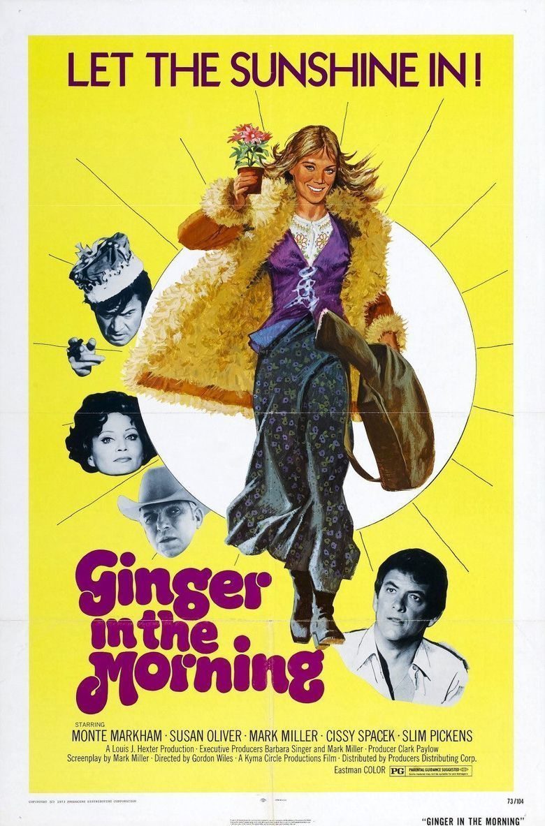 Ginger in the Morning movie poster