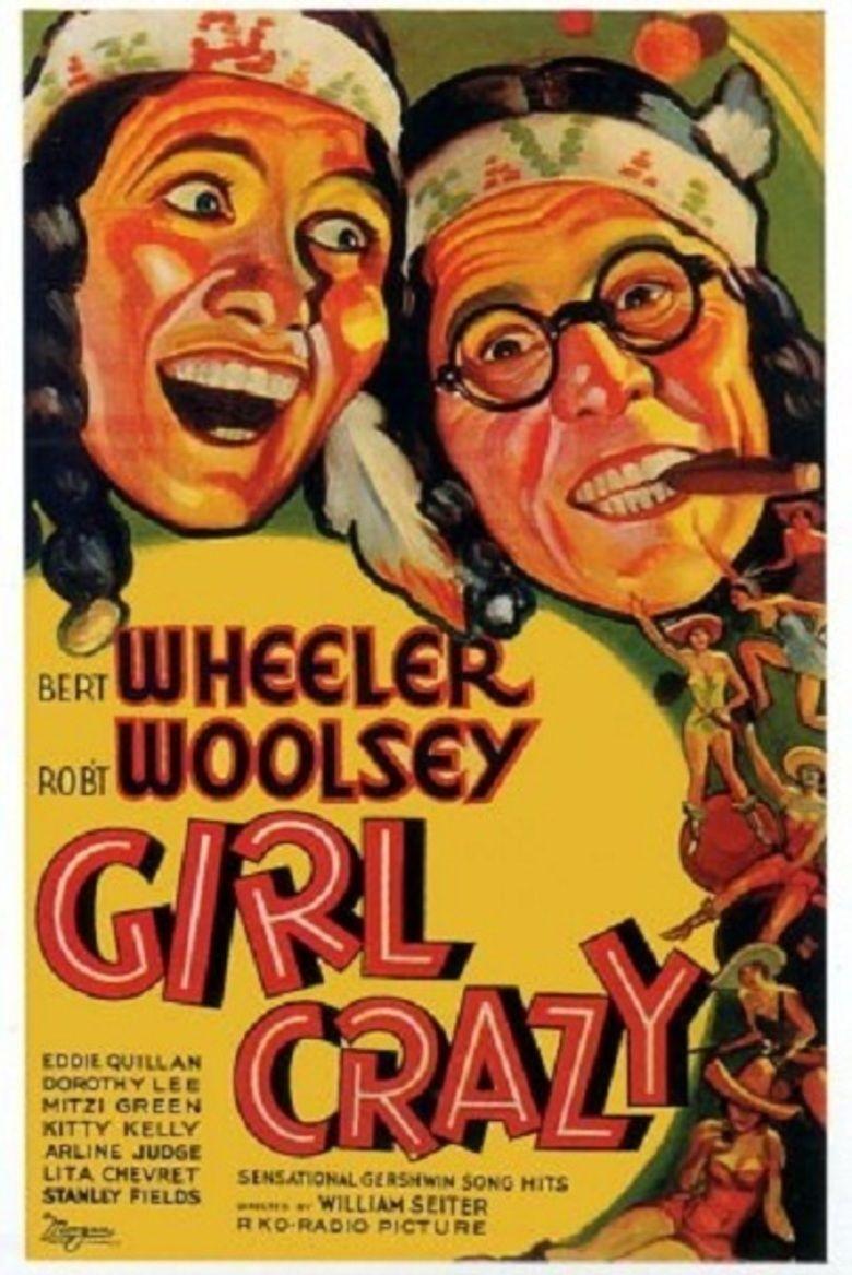 Girl Crazy (1932 film) movie poster