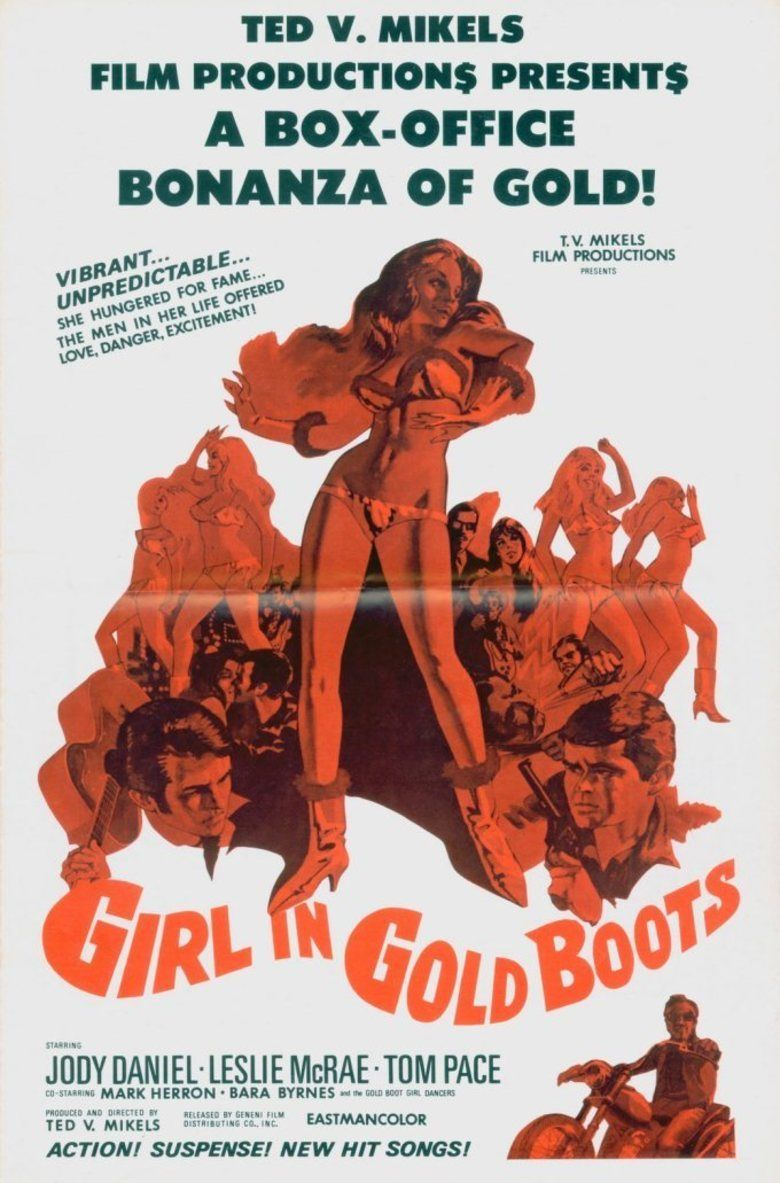 Girl in Gold Boots movie poster