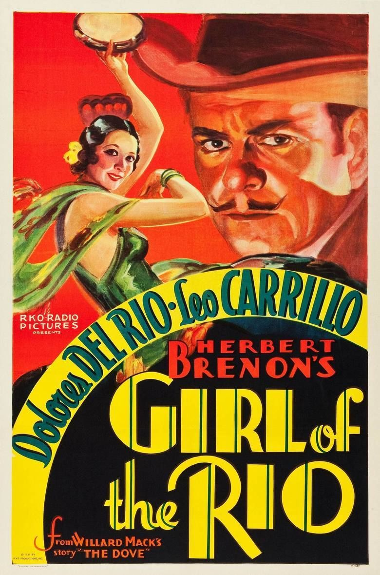 Girl of the Rio movie poster
