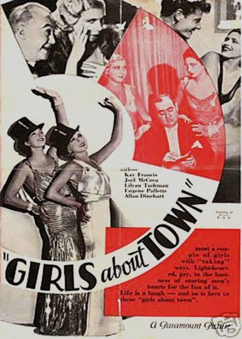 Girls About Town (film) movie poster