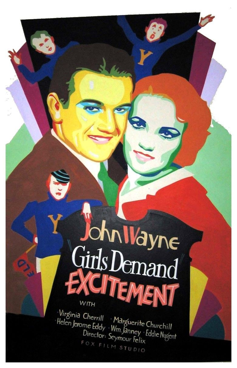 Girls Demand Excitement movie poster