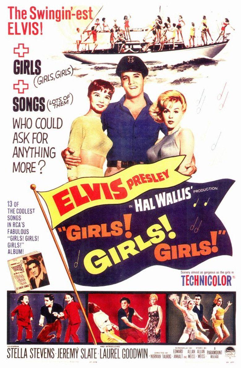 Girls! Girls! Girls! movie poster