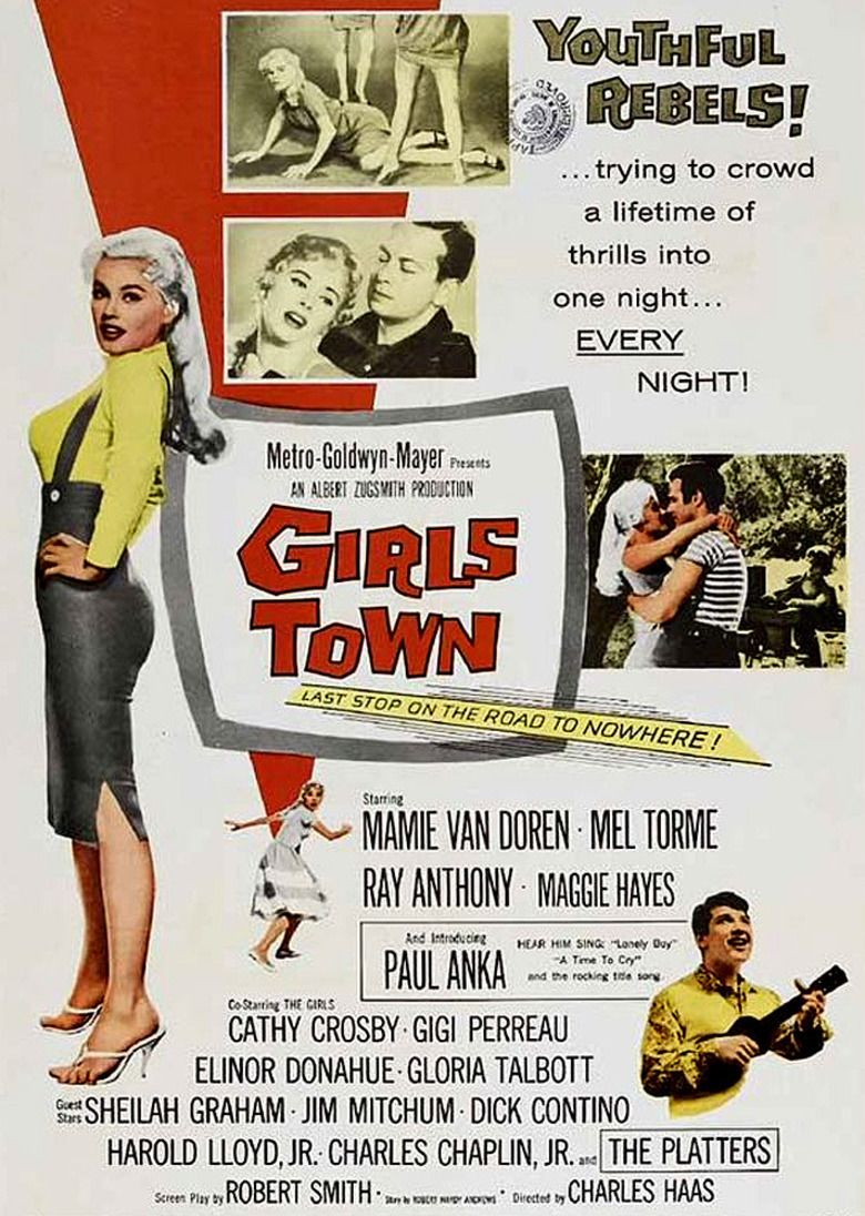 Girls Town movie poster