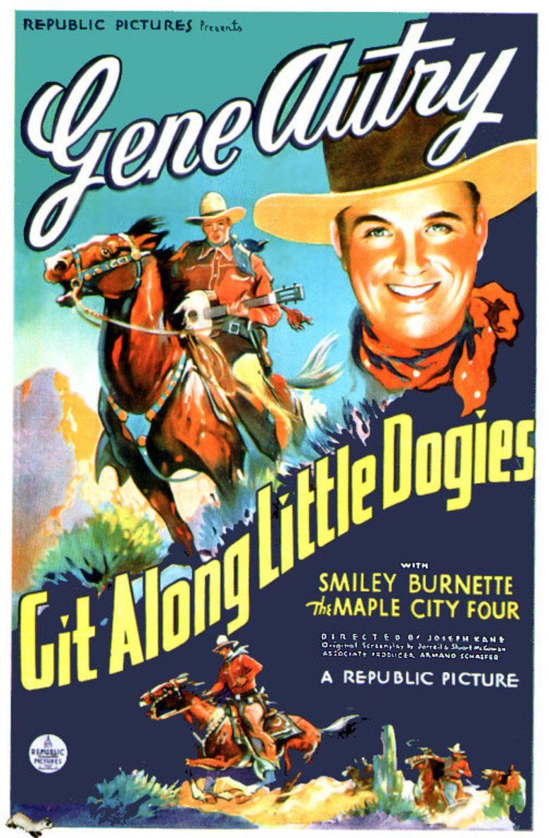Git Along Little Dogies (film) movie poster