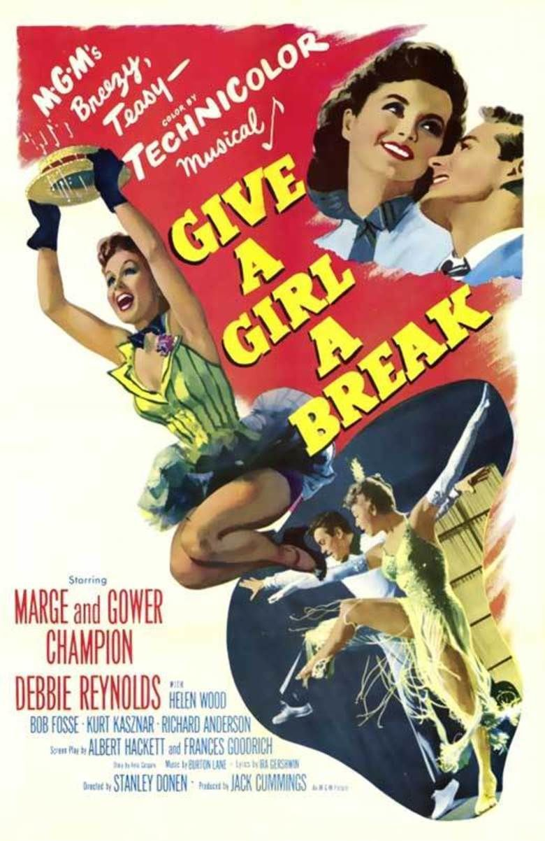 Give a Girl a Break movie poster