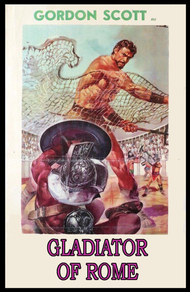 Gladiator of Rome movie poster