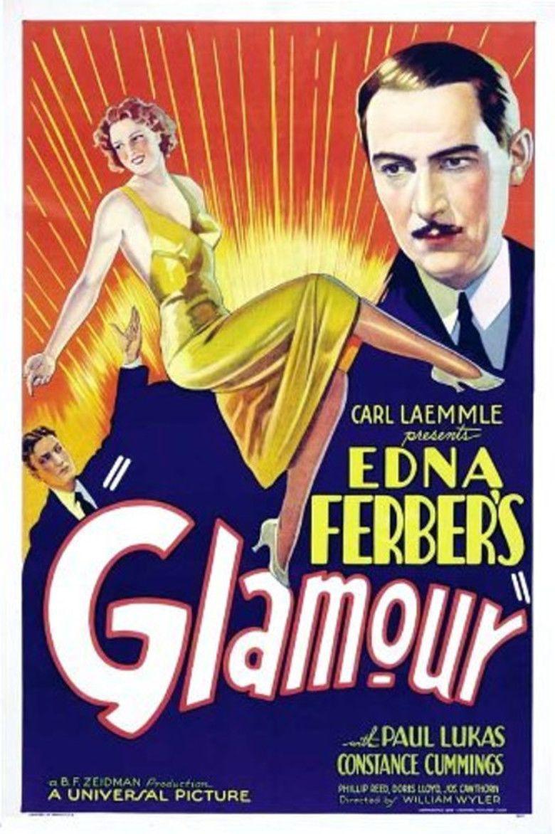 Glamour (1934 film) movie poster