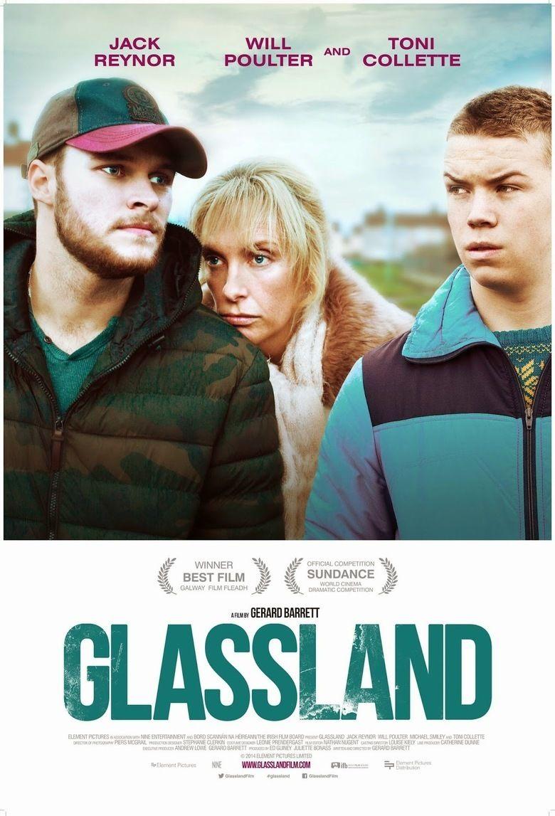 Glassland movie poster