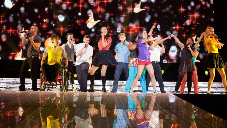 Glee: The 3D Concert Movie movie scenes