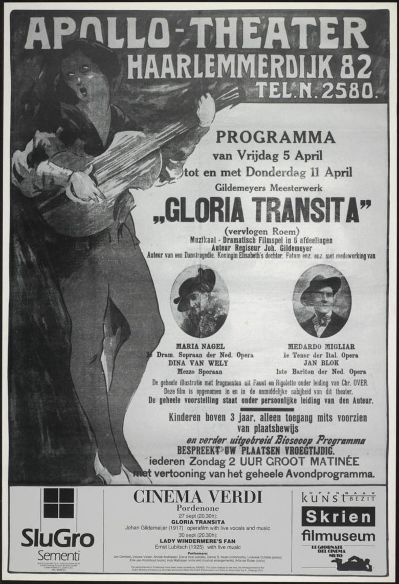Gloria transita movie poster