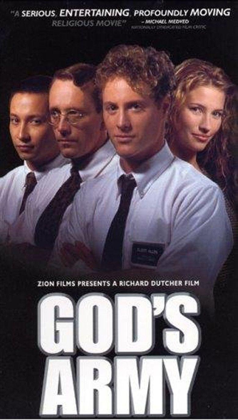 Gods Army (film) movie poster