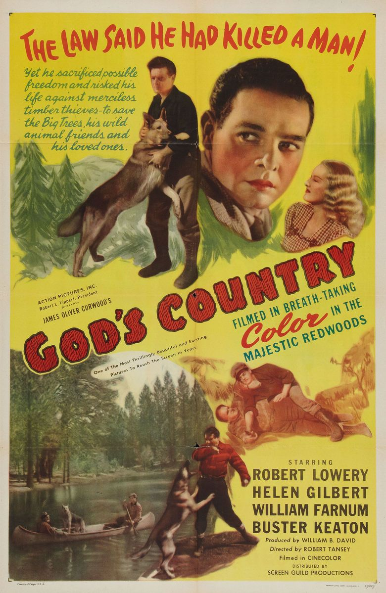 Gods Country (1946 film) movie poster