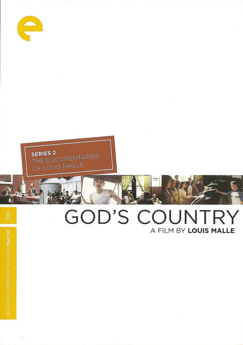 Gods Country (1985 film) movie poster