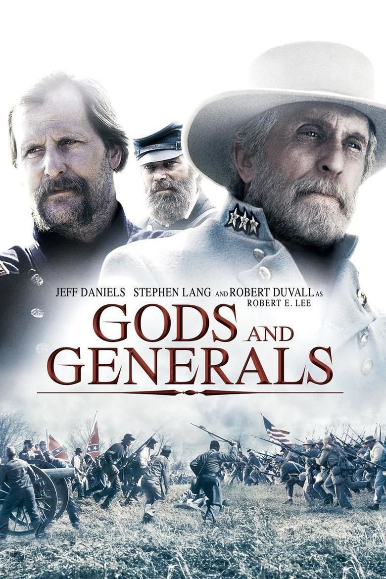 Gods and Generals (film) movie poster
