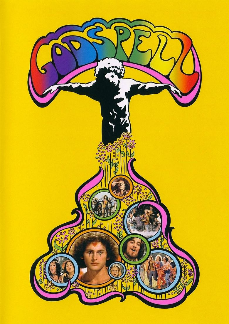 Godspell (film) movie poster