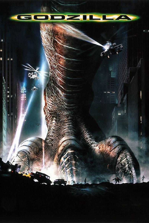 Godzilla (1998 film) movie poster