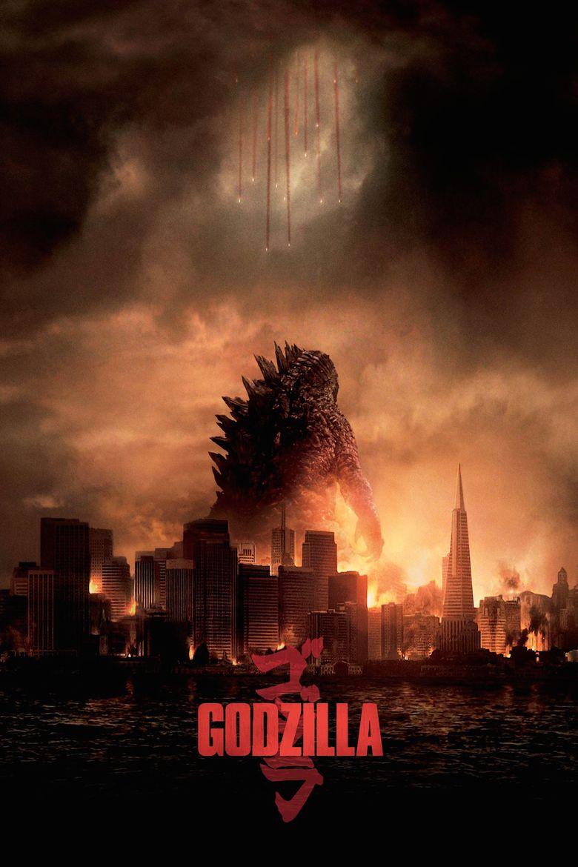 Godzilla (2014 film) movie poster