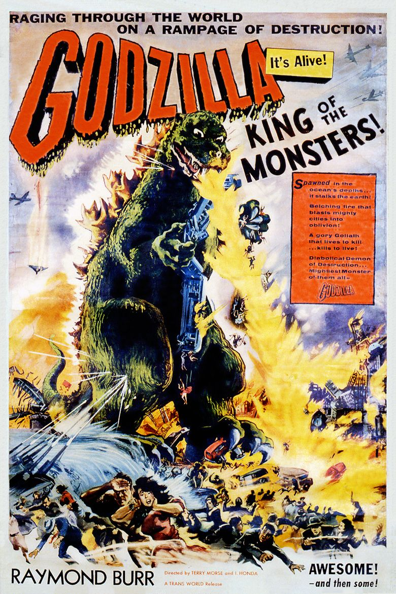 Godzilla, King of the Monsters! movie poster
