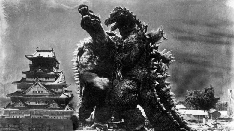 Godzilla Raids Again movie scenes