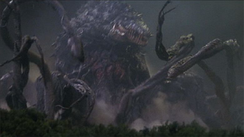 Godzilla vs Biollante movie scenes