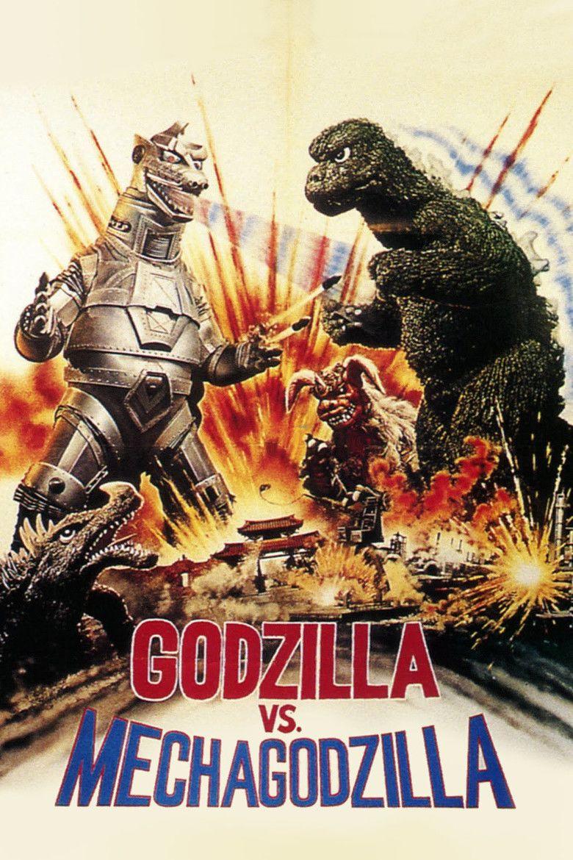 Godzilla vs Mechagodzilla movie poster