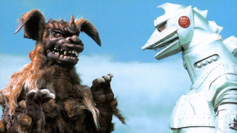 Godzilla vs Mechagodzilla movie scenes