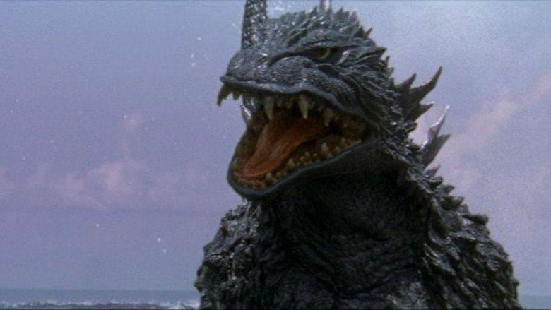 Godzilla vs Megaguirus movie scenes