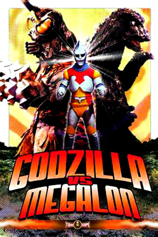 Godzilla vs Megalon movie poster