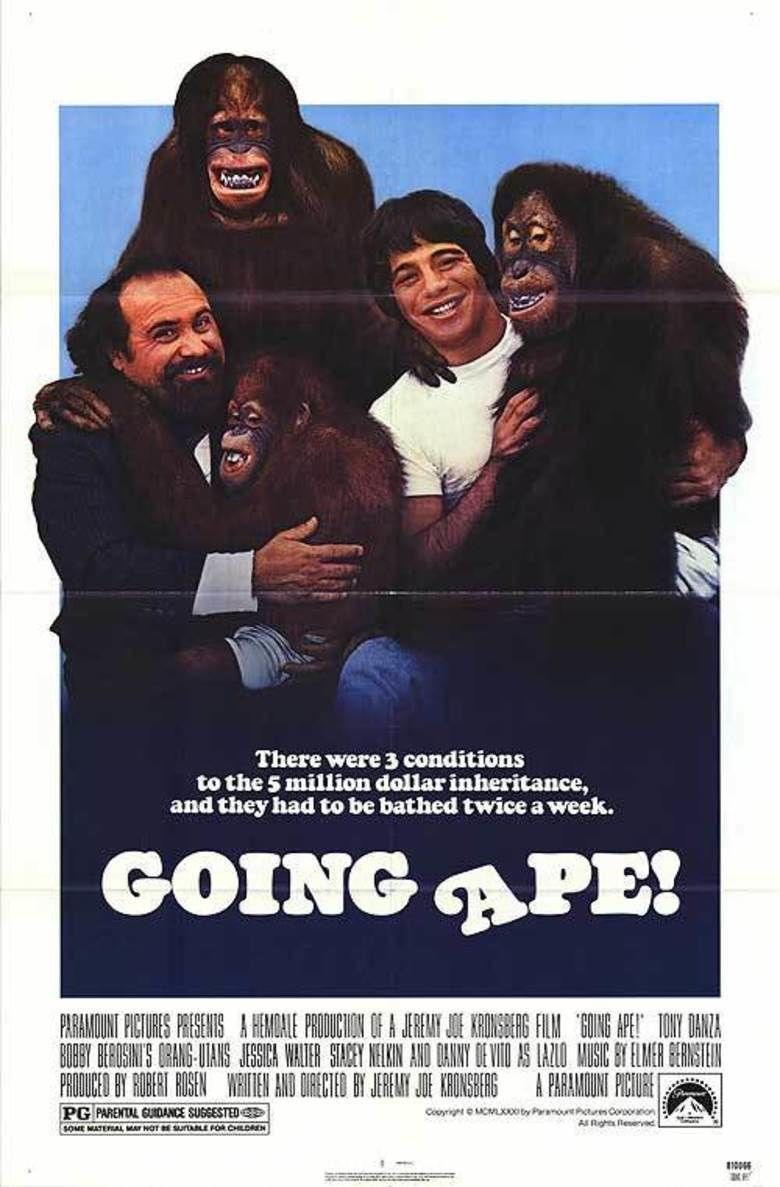 Going Ape! movie poster