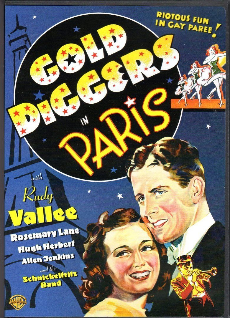 Gold Diggers in Paris movie poster