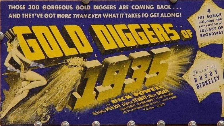 Gold Diggers of 1935 movie scenes