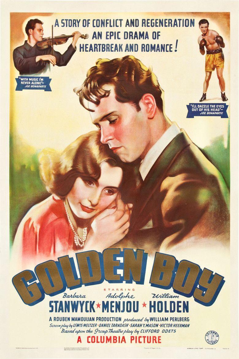 Golden Boy (film) movie poster