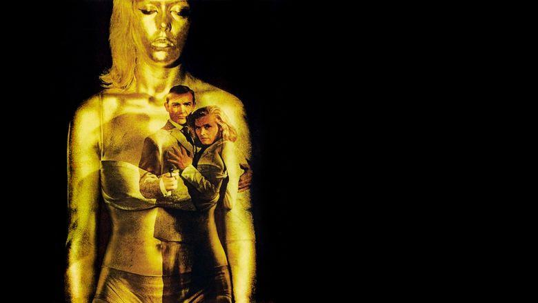 Goldfinger (film) movie scenes