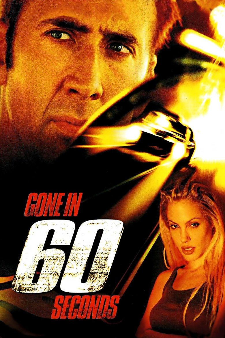 Gone in 60 Seconds (2000 film) movie poster