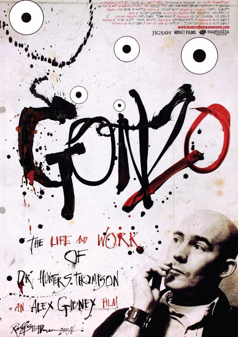 Gonzo: The Life and Work of Dr Hunter S Thompson movie poster
