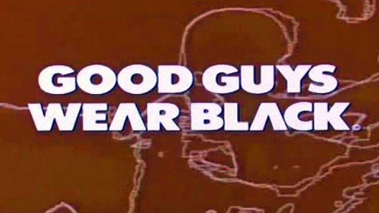 Good Guys Wear Black movie scenes