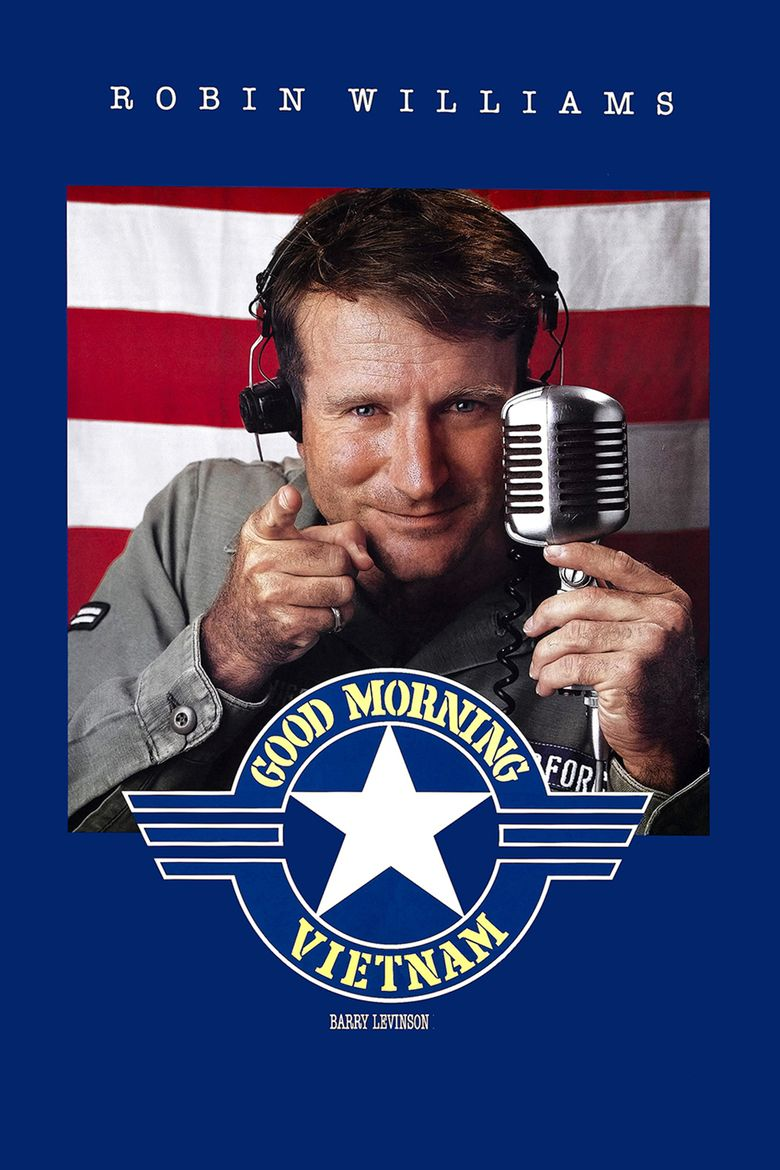 Good Morning, Vietnam movie poster