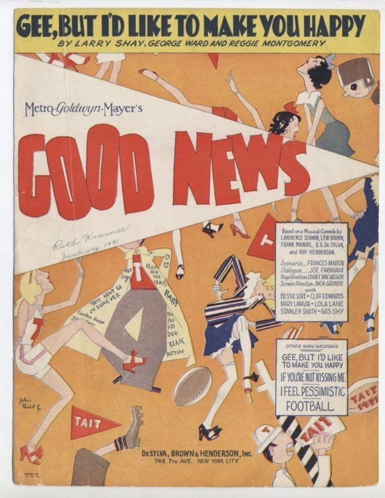Good News (1930 film) movie poster