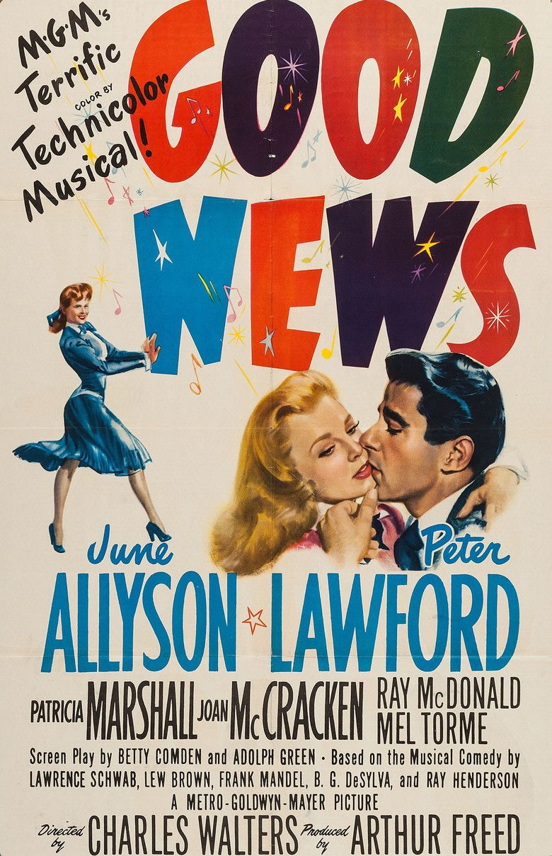Good News (1947 film) movie poster
