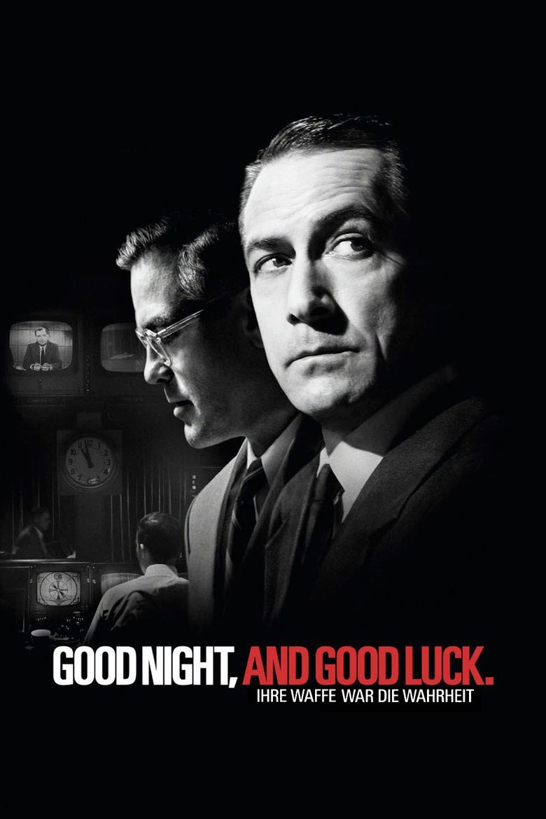 Good Night, and Good Luck movie poster
