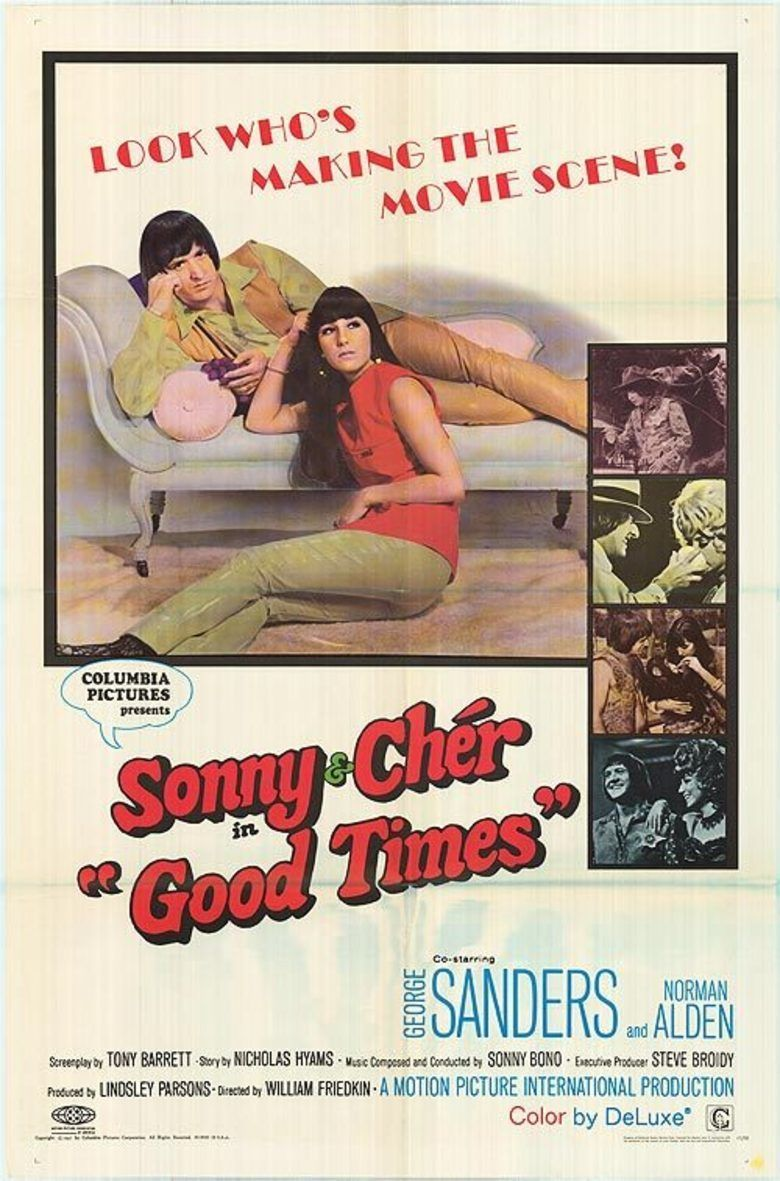 Good Times (film) movie poster