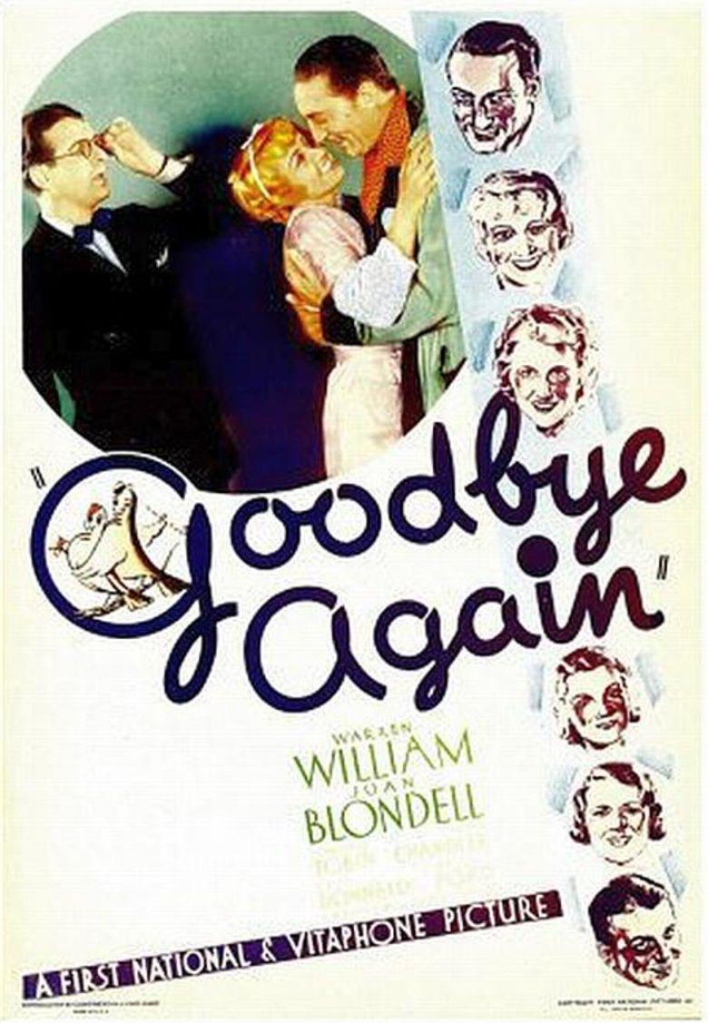Goodbye Again (1933 film) movie poster
