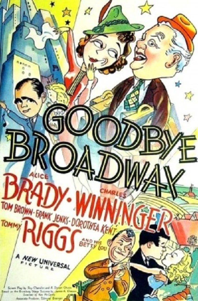 Goodbye Broadway movie poster