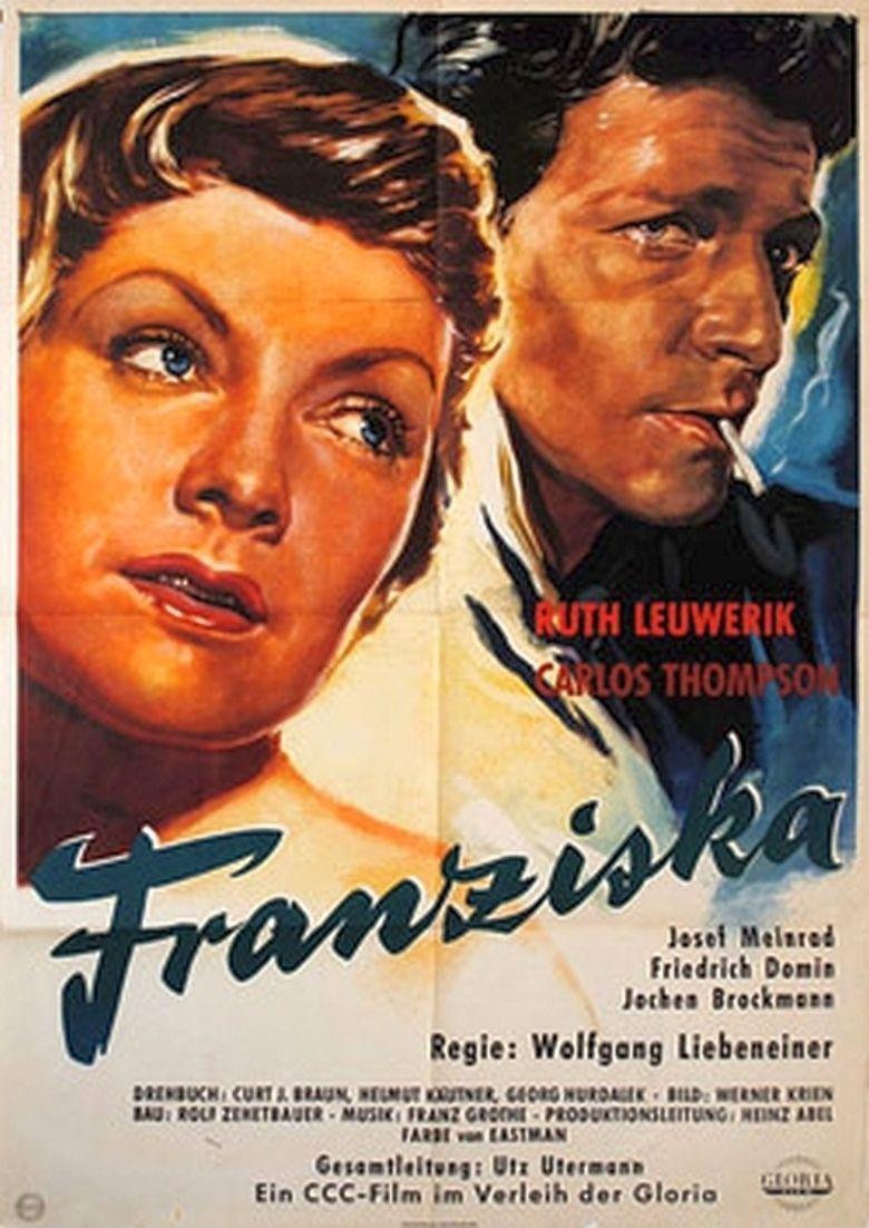 Goodbye, Franziska (1957 film) movie poster