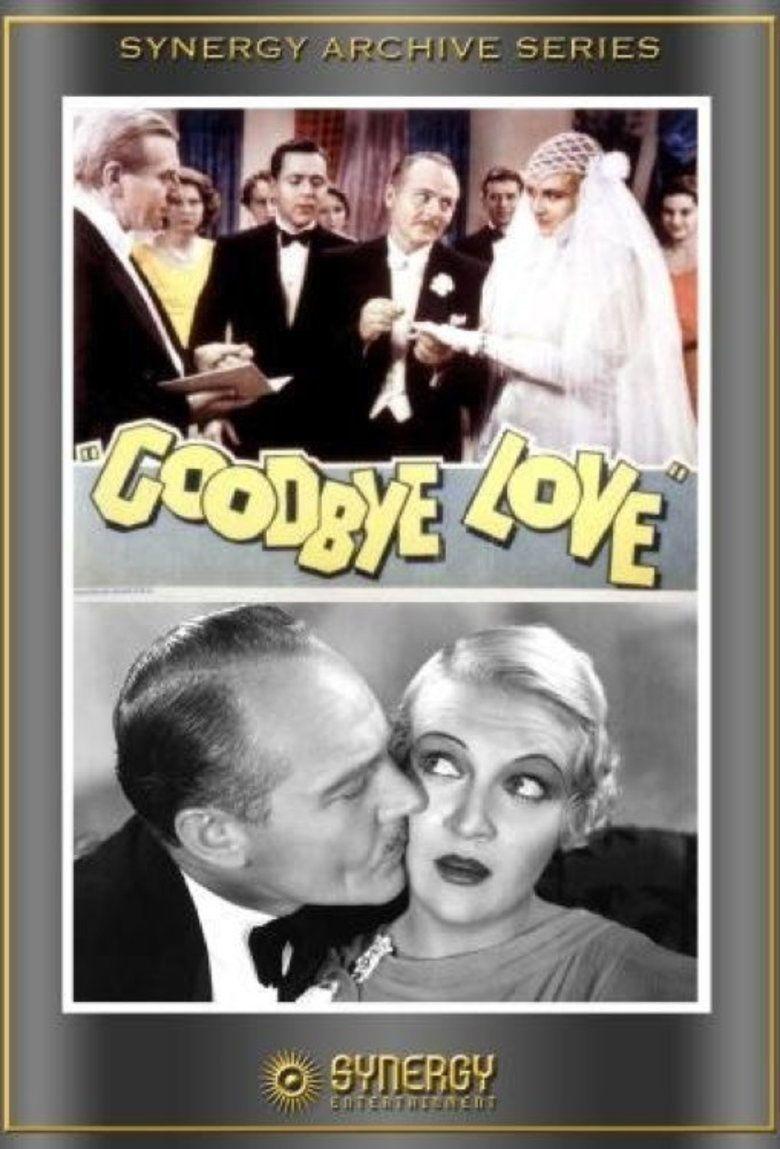 Goodbye Love (film) movie poster