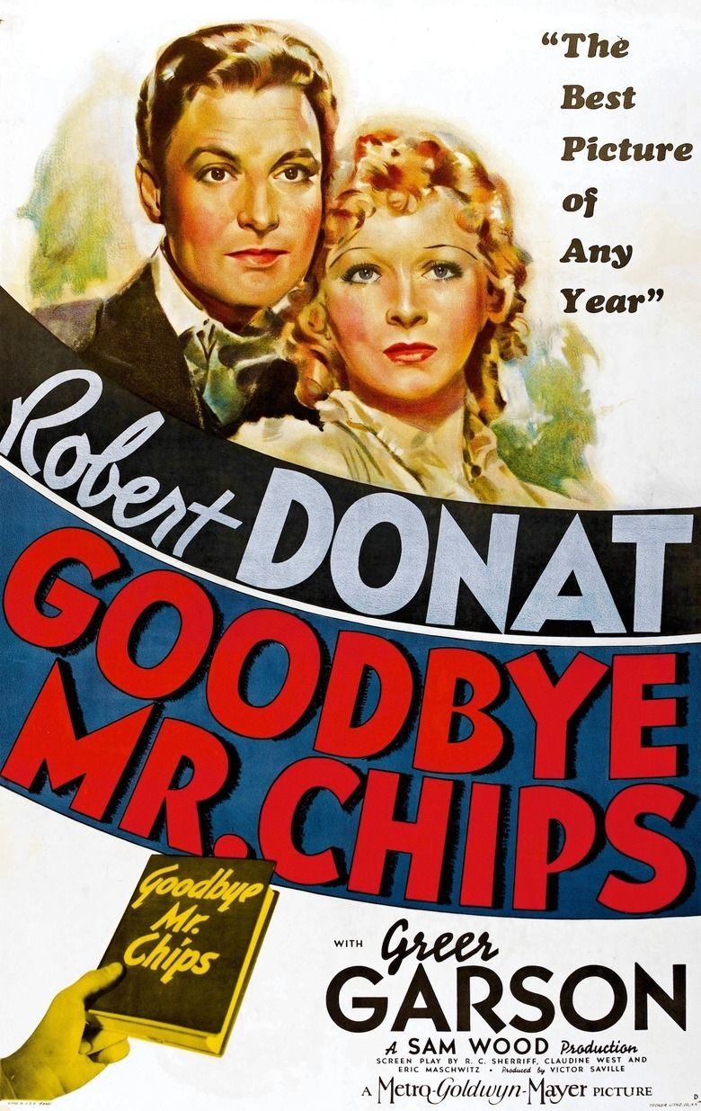 Goodbye, Mr Chips (1939 film) movie poster