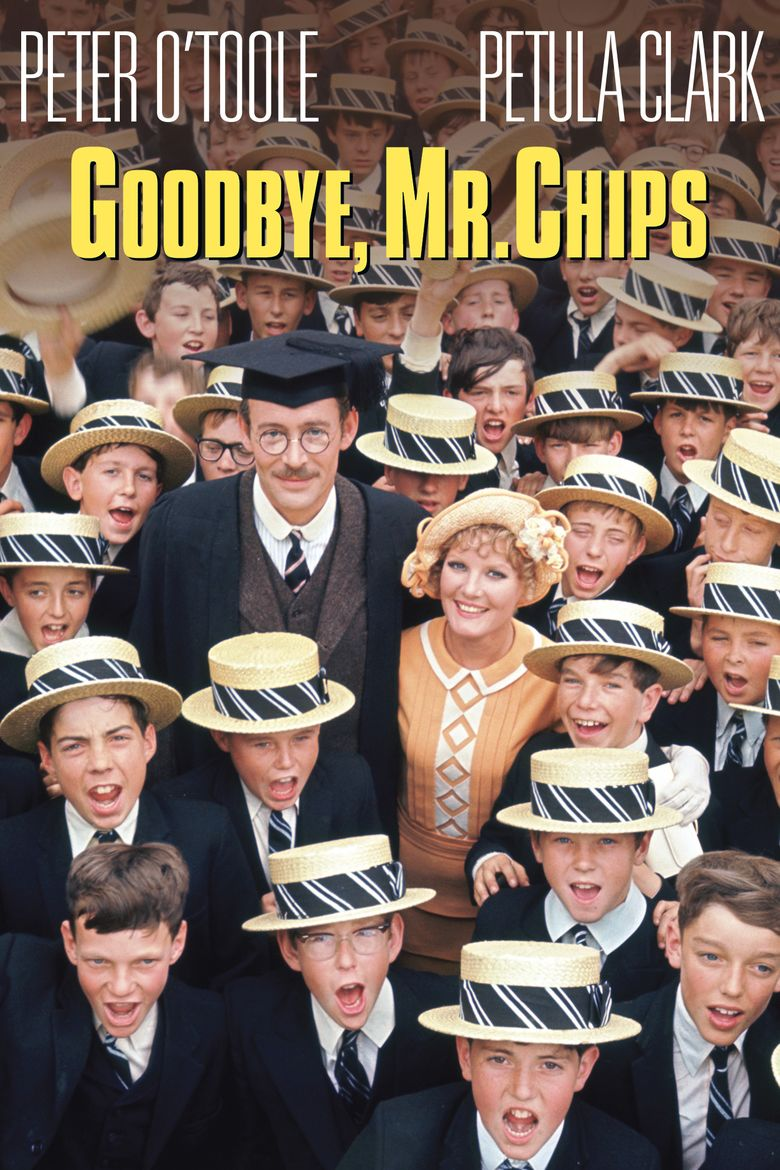 Goodbye, Mr Chips (1969 film) movie poster
