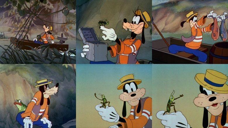 Goofy and Wilbur movie scenes