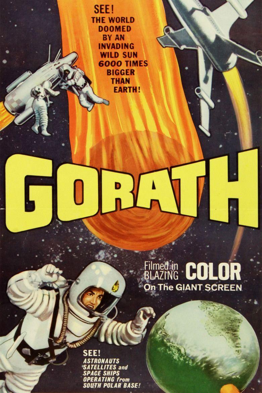 Gorath movie poster